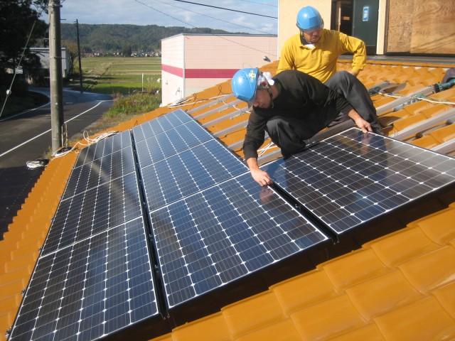 太陽光発電システム 設置
