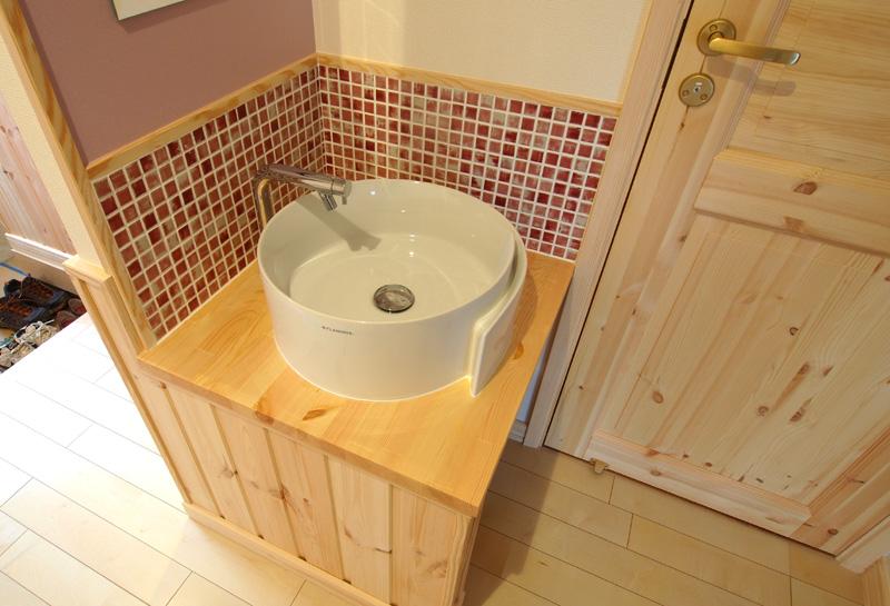 洗面所のタイル3