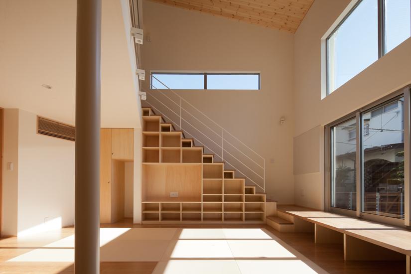リビング階段9