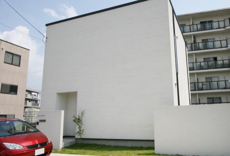 総2階建ての家